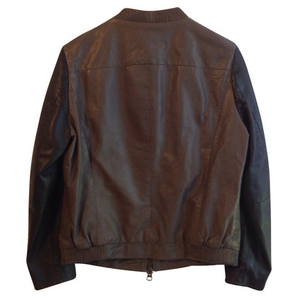 Muubaa Leather jacket in bicolor