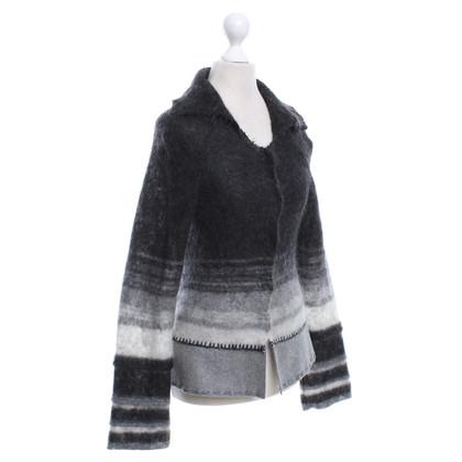 Alberta Ferretti Cardigan in gray tones