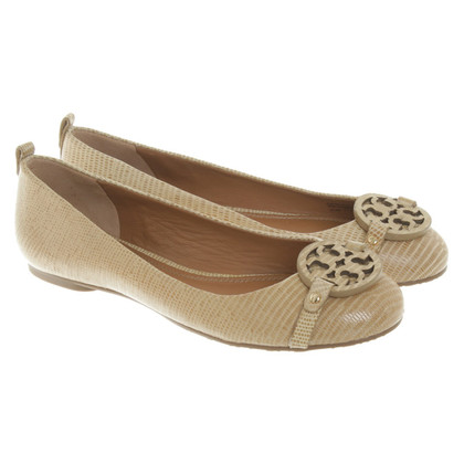Tory Burch Leather ballerinas