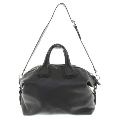 Givenchy sac à main en cuir noir
