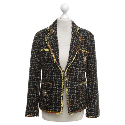 Chanel Blazer with brooches