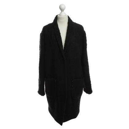 Steffen Schraut Coat in black