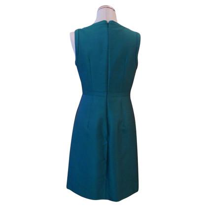 Max Mara Petrol gekleurde jurk