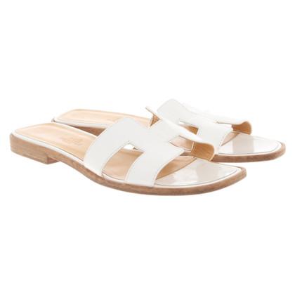 Hermès Sandals in white