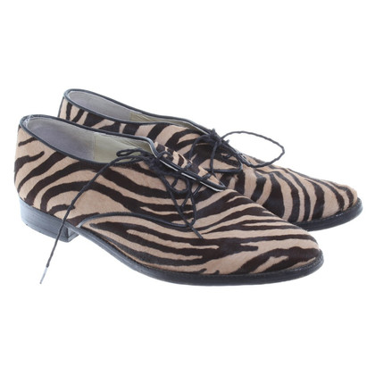 Jourdan Lace-up shoes with animal print