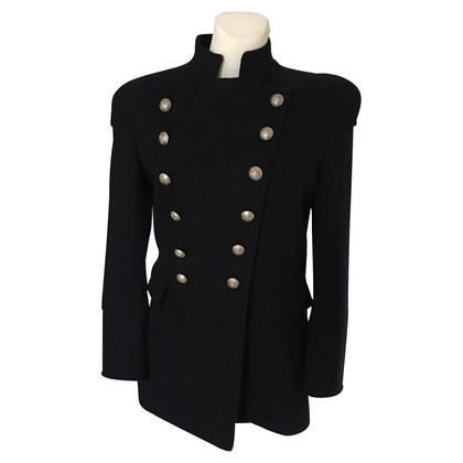 Pierre Balmain coat navy