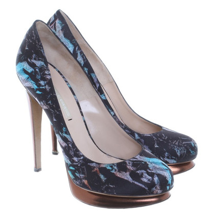 Nicholas Kirkwood pumps in multi color
