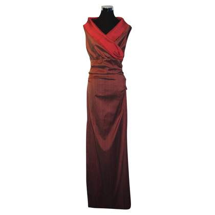 Talbot Runhof Abendkleid aus Seide