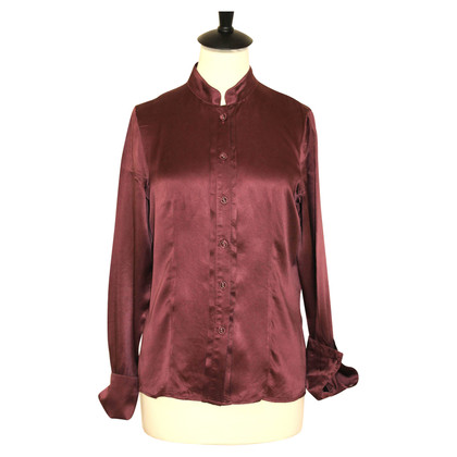 Max & Co Silk blouse in Bordeaux