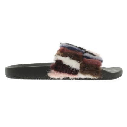 Rebecca Minkoff Slipper with fur
