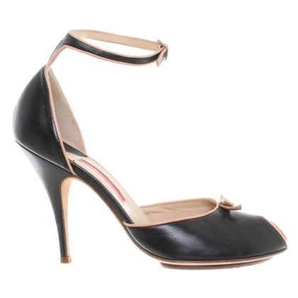 Blumarine Peep-toes in black