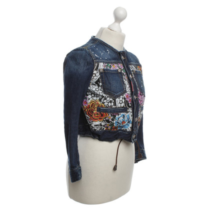 Dsquared2 Denim Jas in Blauw