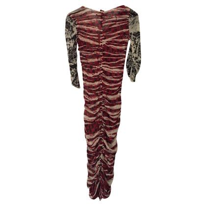Jean Paul Gaultier Kleid mit auffälligem Print