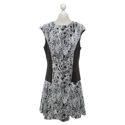 Ted Baker Dress in black and white
