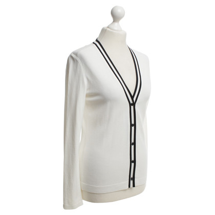 Marc Cain Strick-Cardigan in Creme