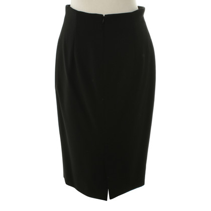 Gianni Versace Pencil skirt in black