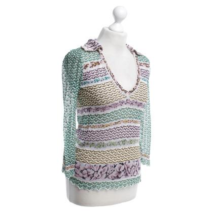 Missoni Knit sweater pattern mix