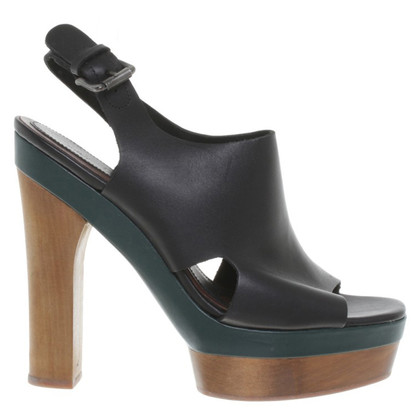 Marni for H&M Plateau-Peeptoes in zwart