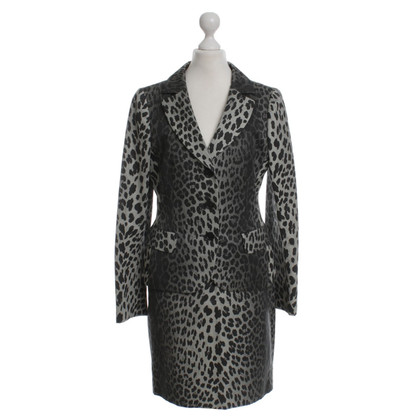 Moschino Cheap and Chic Costume con stampa animalier