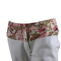 By Malene Birger pantaloni di estate con dettagli di fiori