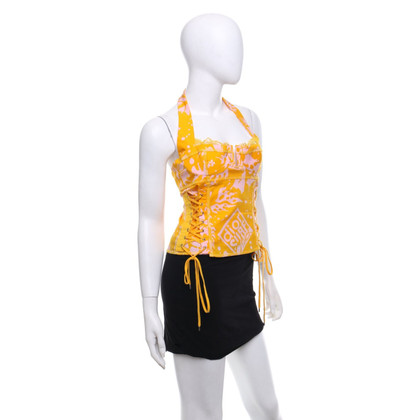 Christian Dior Bustier with pattern