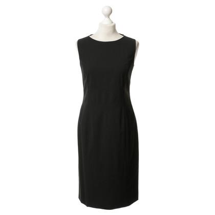 Red Valentino Zwarte schede jurk