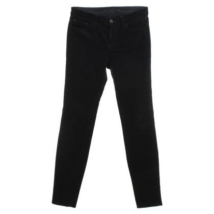 J Brand Corduroy trousers in dark blue