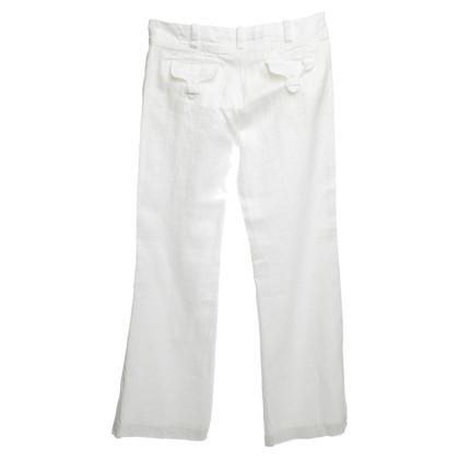 Escada Trouser in White