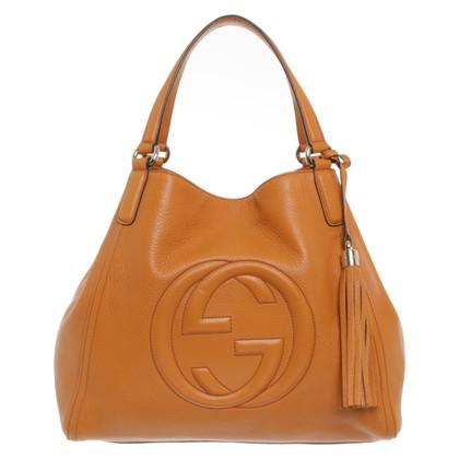 "Gucci ""Soho Shopper"" in orange"