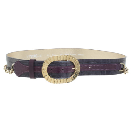 Versace Belt with link chain