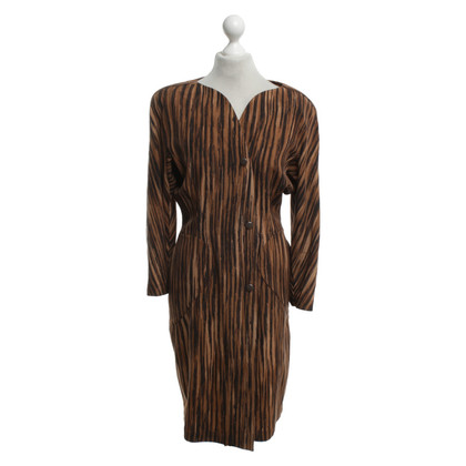 Mugler Vintage dress with pattern