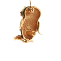 Carven Brooch In Owl Shape