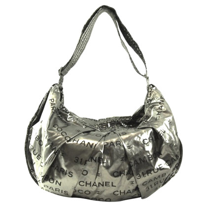 Chanel Shoulder bag in silver