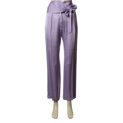 Dries van Noten Broek in Lila