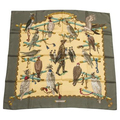 """Hermès Silk scarf """"Les Oiseaux du Roy"""""""