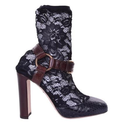 Dolce & Gabbana  Pumps aus Schlangenleder