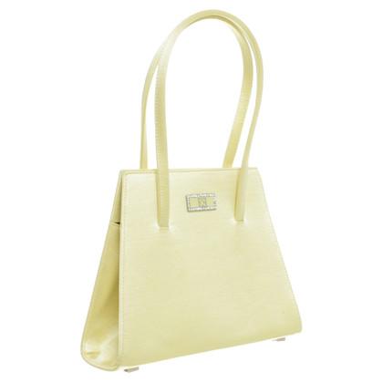 Escada Evening bag in lemon yellow
