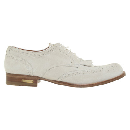 Dsquared2 Veterschoenen in crème