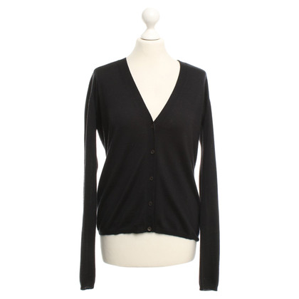 Miu Miu Strickjacke in Schwarz