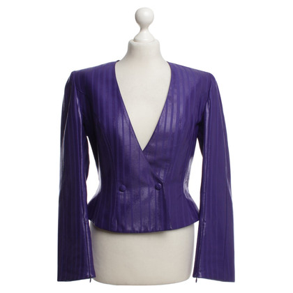 Mugler Blazer with stripes