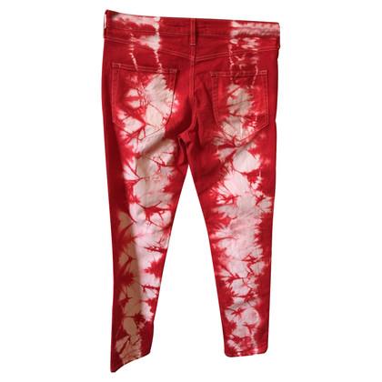 Isabel Marant Jeans in batik style