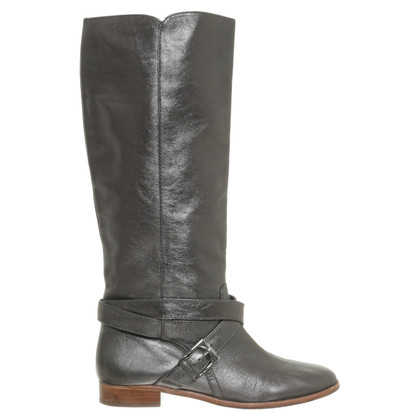 Marc by Marc Jacobs Stiefel mit Metallic-Schimmer