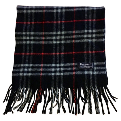 Burberry Wool scarf in navy