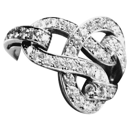 "Cartier ""Agrafe Diamond Pave Ring"""