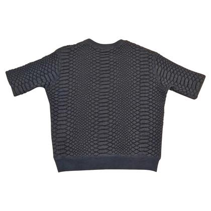 Sandro quilted sweatshirt