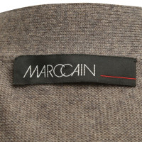 Marc Cain Long cardigan in Taupe