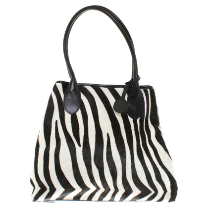 DKNY Handtasche in Fell-Optik