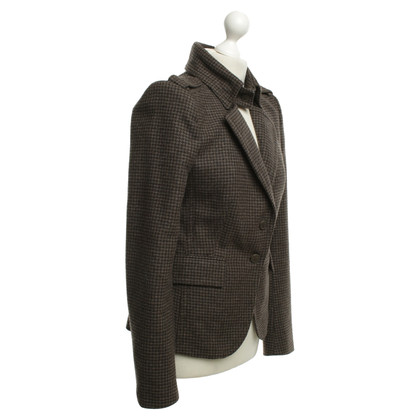 Drykorn Blazer with houndstooth pattern