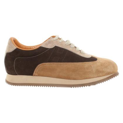 Hermès Suede sneakers