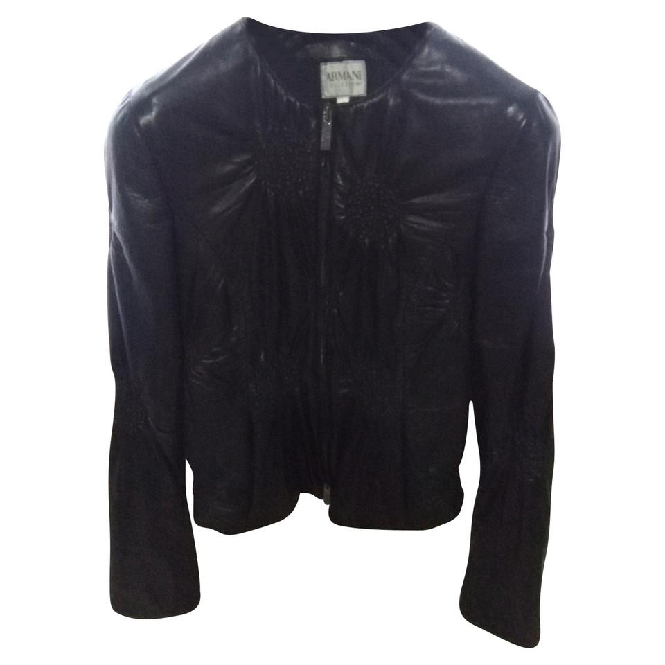 Armani leather jacket
